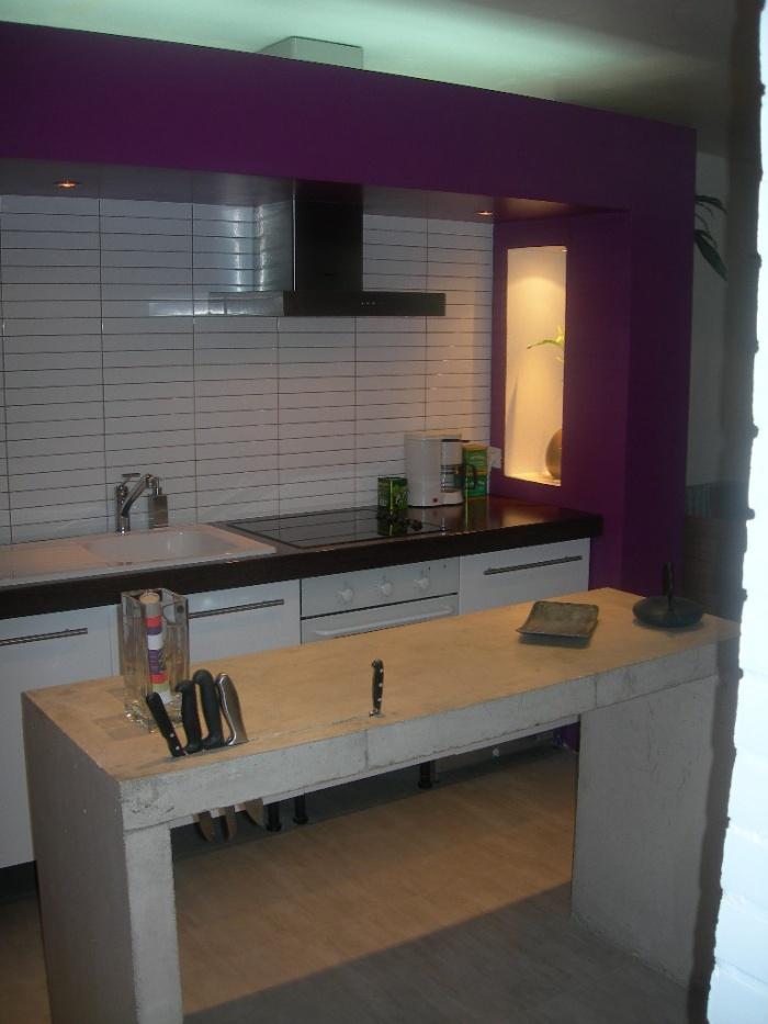 Réhabilitation et extension d'une habitation : Domont_cuisine_1