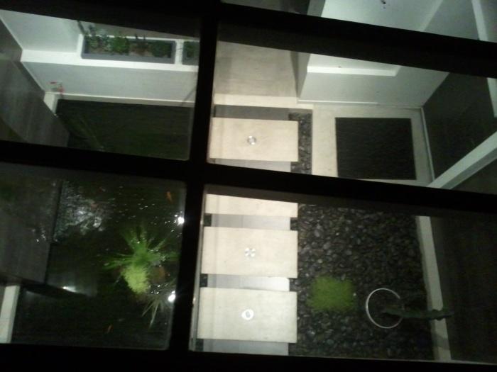 Réhabilitation et extension d'une habitation : Domont_bassin_depuis_terrasse