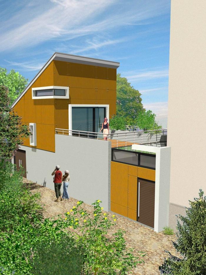 Architectes extension clos couvert d 39 une for Architecte marseille maison individuelle