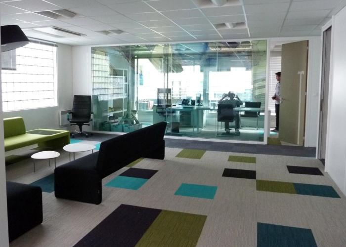 Réaménagement bureaux société Zonefranche