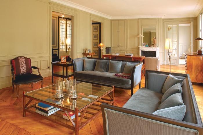r novation d 39 un appartement haussmannien paris une r alisation de adda. Black Bedroom Furniture Sets. Home Design Ideas