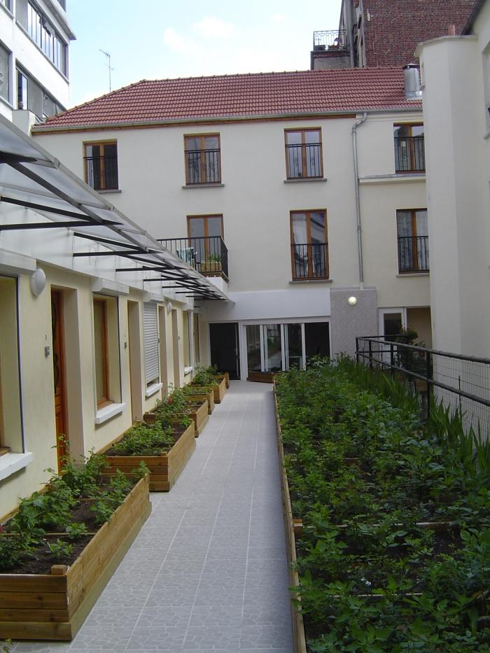 22 logements en réhabilitation et restructuration