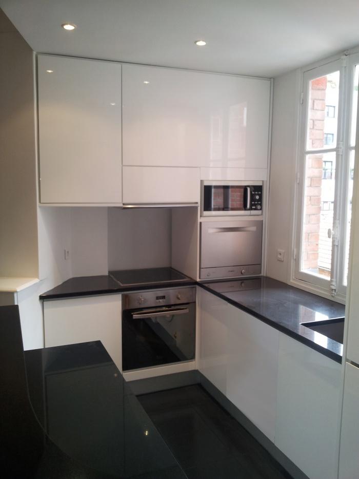 architectes r novation d 39 un appartement paris. Black Bedroom Furniture Sets. Home Design Ideas