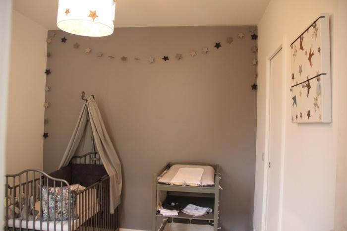 Transformation appartement T2 en T3 : chambre bébé