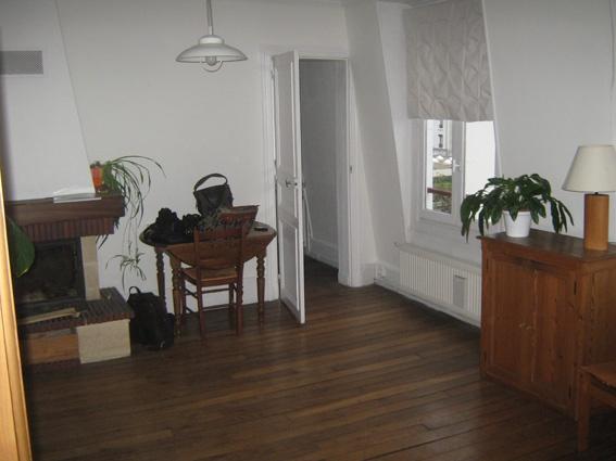 Transformation appartement T2 en T3 : salon avant