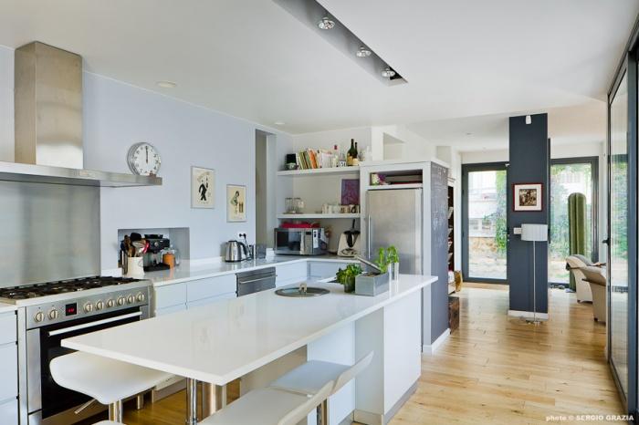 maison contemporaine suresnes une r alisation de texier soulas. Black Bedroom Furniture Sets. Home Design Ideas
