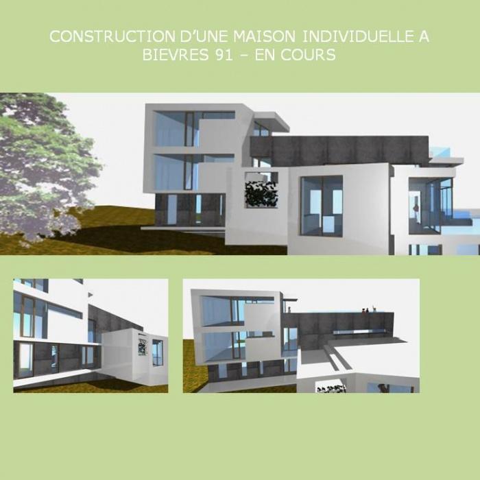 CONSTRUCTION D'UNE MAISON INDIVIDUELLE BBC A BIEVRES