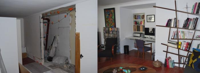 Réaménagements et création d'espaces