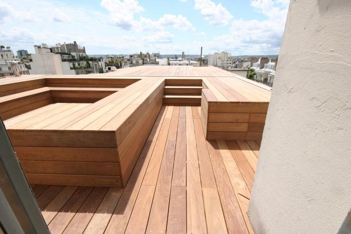 Terrasse et toits parisiens