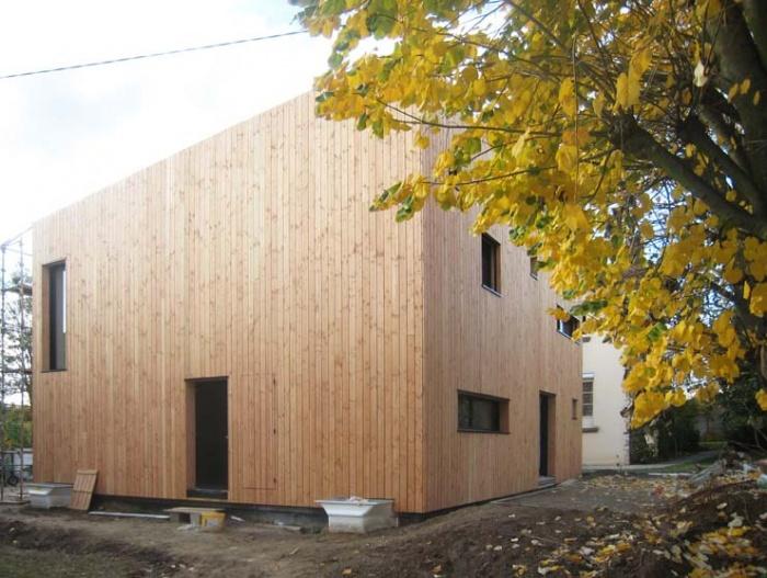 Maison en bois à Montlignon (95) : .../// 4 novembre 2011 ///...