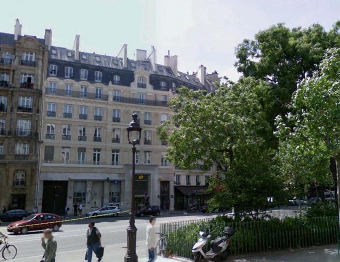 Loft bd Voltaire 75011 : façade sur rue