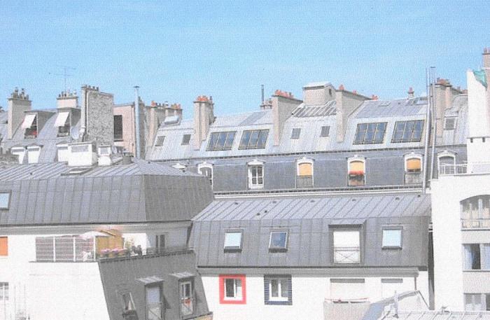 Loft bd Voltaire 75011 : façade sur cour