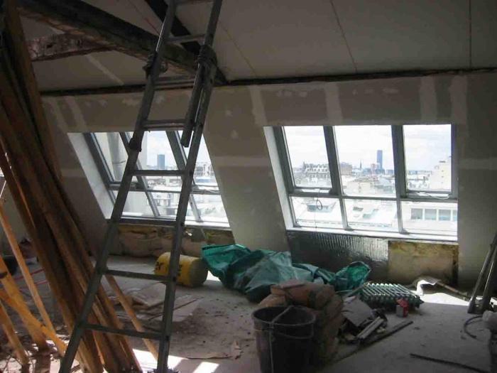 Loft bd Voltaire 75011 : chantier