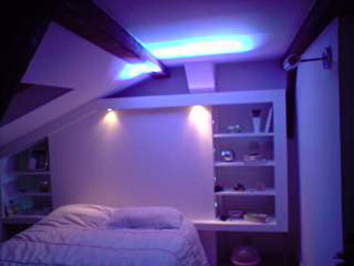 Loft bd Voltaire 75011 : chambre