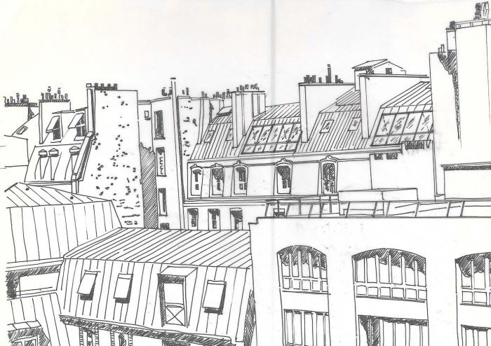 Loft bd Voltaire 75011 : perspective