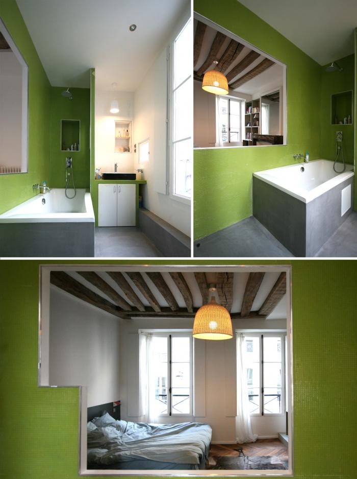 paradis paris une r alisation de julie alazard. Black Bedroom Furniture Sets. Home Design Ideas