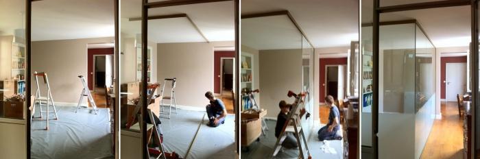 chambre avec vue 1 pi ce en plus paris une r alisation de lgarchitecture. Black Bedroom Furniture Sets. Home Design Ideas