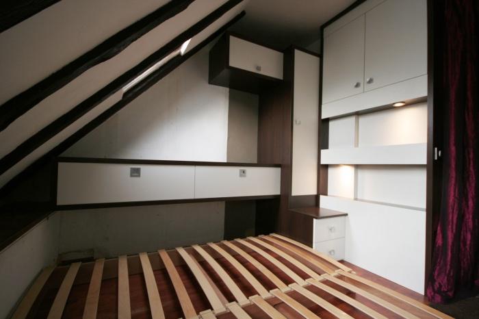 lit gigogne et rangements paris 9 une r alisation de atelier instant t. Black Bedroom Furniture Sets. Home Design Ideas