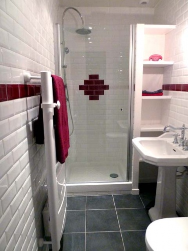 Résidence secondaire : salle de douche
