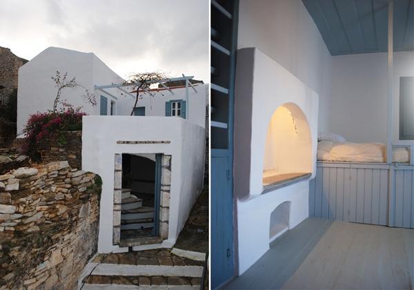 Rénovation d'une maison en Grèce