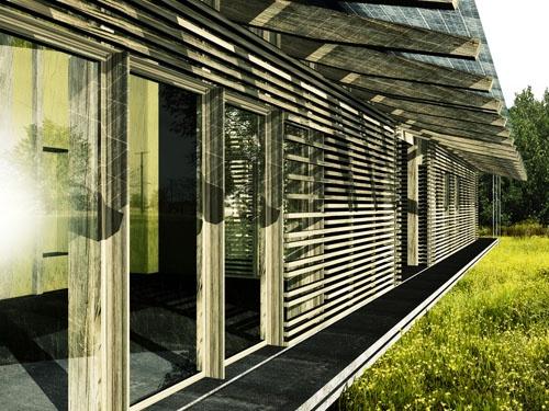 Villa dichotome : DF-VOUL-PERS-coursive