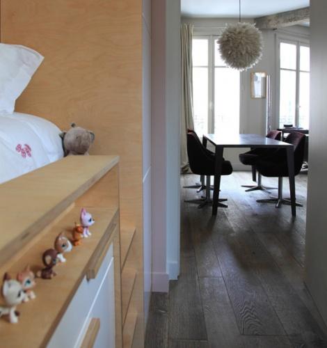 Aménagement intérieur d'un appartement d'esprit loft New-Yorkais : AT7