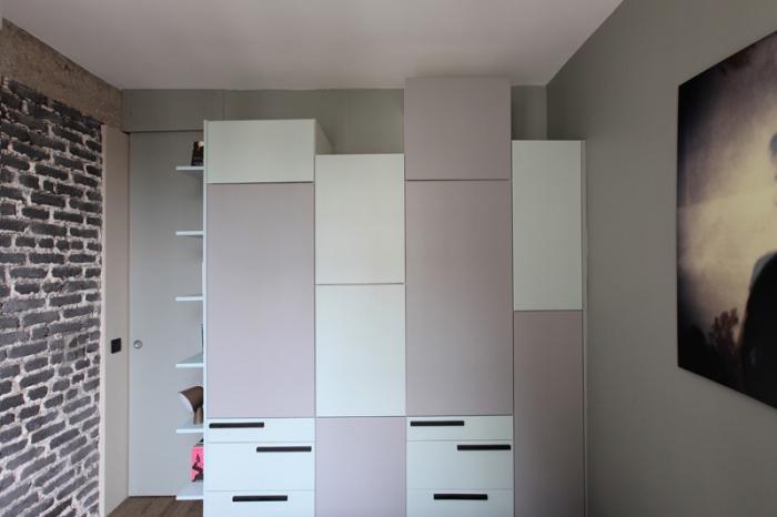 Aménagement intérieur d'un appartement d'esprit loft New-Yorkais : AT11