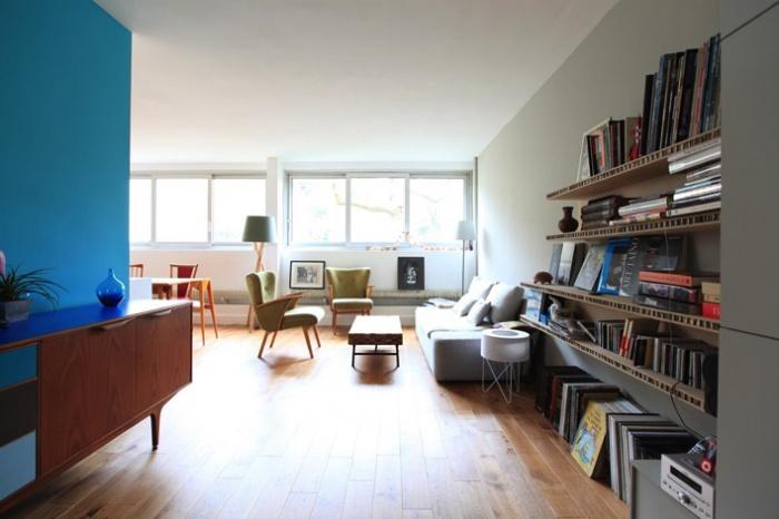 Rénovation complète et aménagement d'un appartement 70
