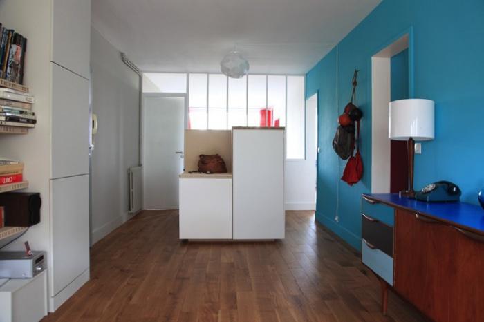 Rénovation complète et aménagement d'un appartement 70 : Ab7