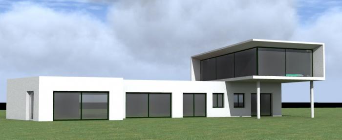 maison individuelle extension tudes v sinet le une r alisation de atelier mpa. Black Bedroom Furniture Sets. Home Design Ideas