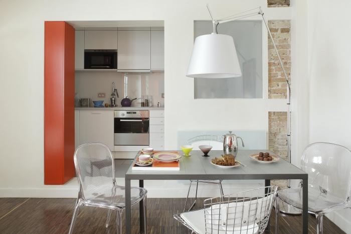 Unité d'habitation : cuisine