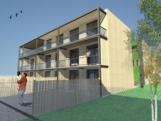 Architectes immeuble ecologique arcueil for Immeuble ecologique
