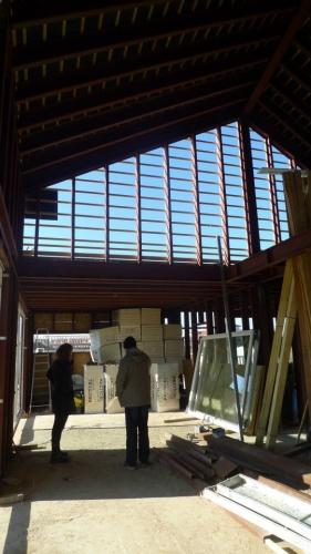 Construction d'une maison individuelle BBC : intérieur