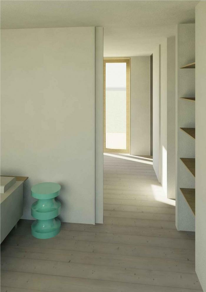 Maison écoresponsable ossature bois_Corse : vue 3