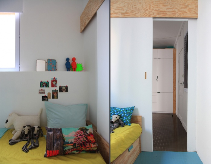Aménagement d'un appartement de 55m2 pour 4 personnes : EetP17et18