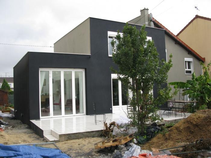 Extension + réhabilitation partielle d'une maison individuelle : IMG_5570b
