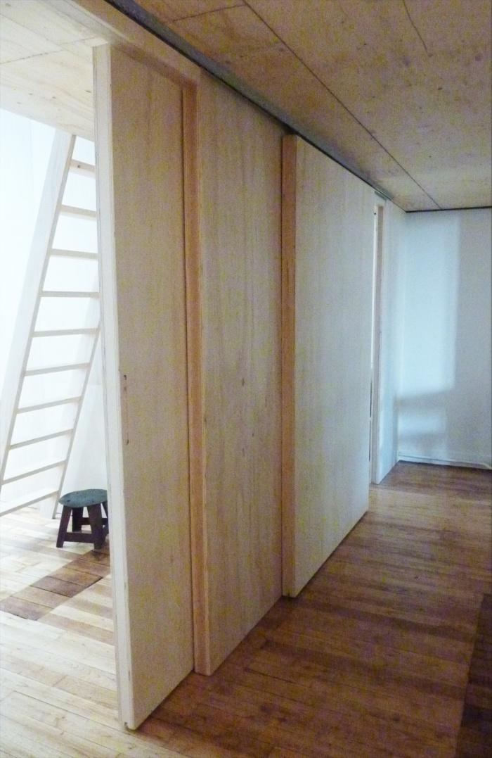 Aménagement intérieur Bois : VUE-COULOIR3_MARTEL
