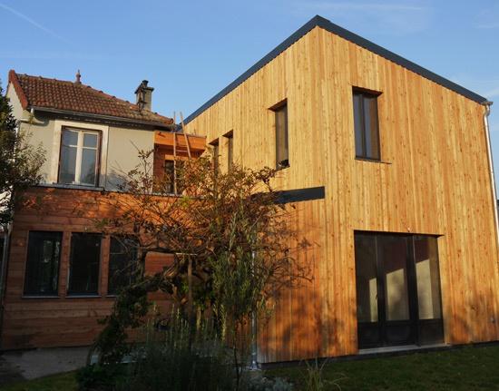 extension maison individuelle bagneux une r alisation de js architect. Black Bedroom Furniture Sets. Home Design Ideas