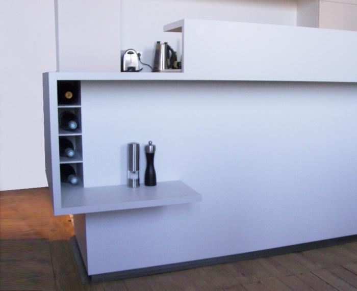 Réhabilitation d'une maison et création de mobilier à Trouville : MEUBLE CUISINE V2