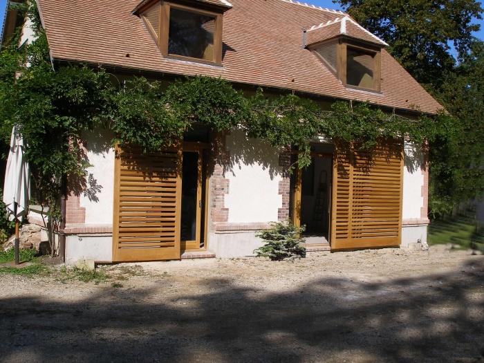 Réhabilitation d'une maison  à la campagne