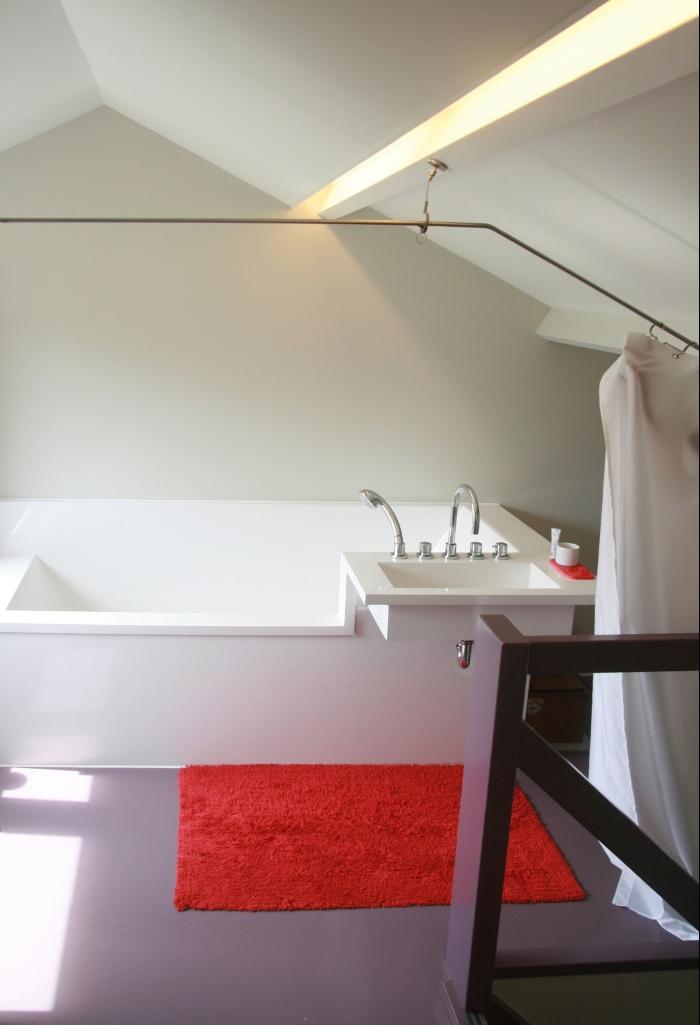 Rénovation d'un pavillon : salle de bains