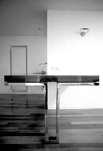 Extension d'une maison individuelle : meuble de la cuisine