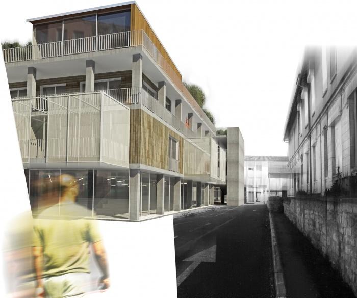 Réhabilitation d'un immeuble hospitalier en logements