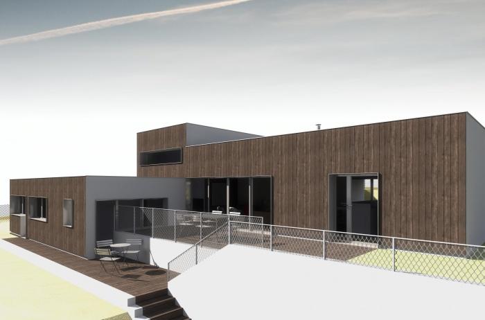 Nouvelle maison à Montlignon : MONTAGE D copie