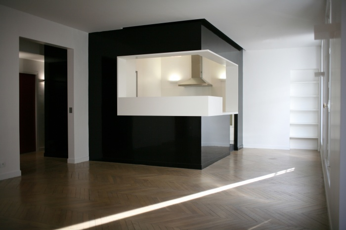 Réhabilitation d'un appartement de 6 pièces