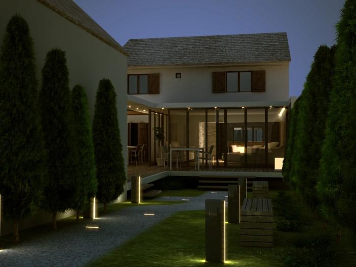 Extension d 39 une maison champigny sur marne 94500 for Extension maison lotissement