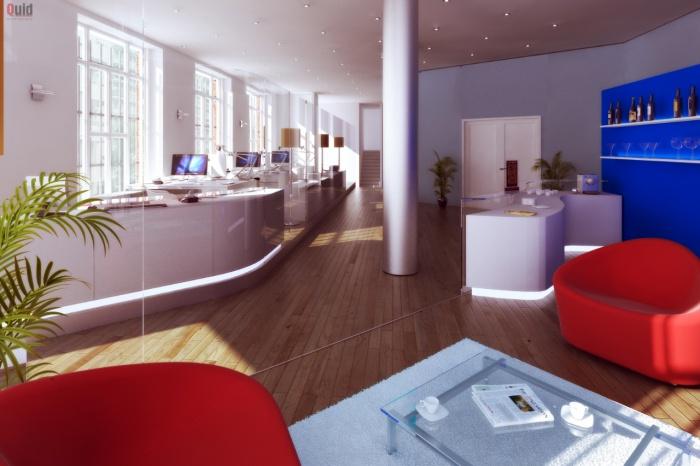 Projet de réaménagement des bureaux du KIRON ESPACE