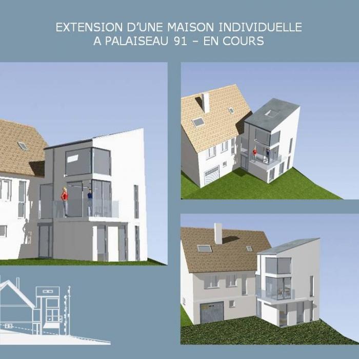 Architectes Extension D 39 Une Maison