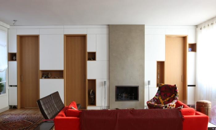 Restructuration d'un appartement à Paris : 04