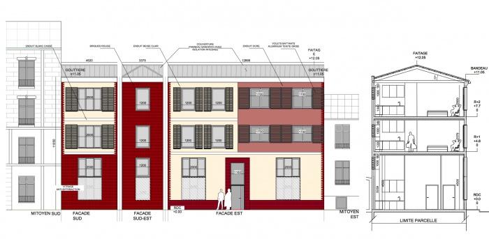 Construction d'un immeuble de logements collectifs